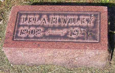 WILEY, LELA H. - Stark County, Ohio | LELA H. WILEY - Ohio Gravestone Photos