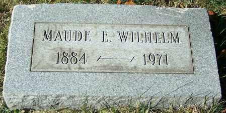 WILHELM, MAUDE E. - Stark County, Ohio | MAUDE E. WILHELM - Ohio Gravestone Photos