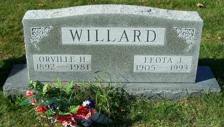 WILLARD, LEOTA J. - Stark County, Ohio | LEOTA J. WILLARD - Ohio Gravestone Photos