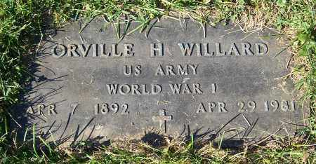WILLARD, ORVILLE H. - Stark County, Ohio | ORVILLE H. WILLARD - Ohio Gravestone Photos