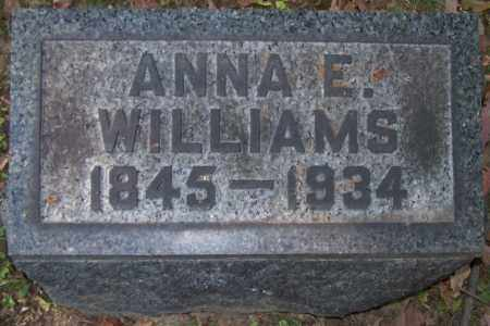 WRIGHT WILLIAMS, ANNA E. - Stark County, Ohio | ANNA E. WRIGHT WILLIAMS - Ohio Gravestone Photos