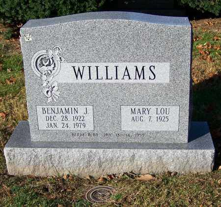 WILLIAMS, BENJAMIN J. - Stark County, Ohio | BENJAMIN J. WILLIAMS - Ohio Gravestone Photos