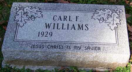 WILLIAMS, CARL F. - Stark County, Ohio | CARL F. WILLIAMS - Ohio Gravestone Photos