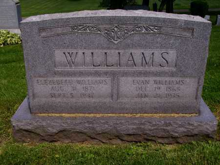 WILLIAMS, ELIZABETH - Stark County, Ohio | ELIZABETH WILLIAMS - Ohio Gravestone Photos