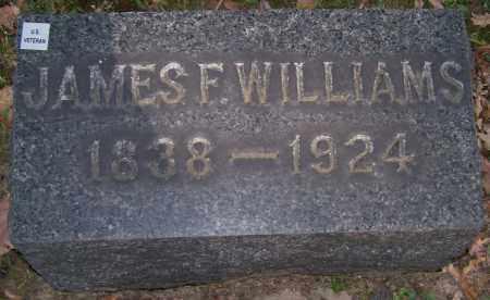 WILLIAMS, JAMES F. - Stark County, Ohio | JAMES F. WILLIAMS - Ohio Gravestone Photos