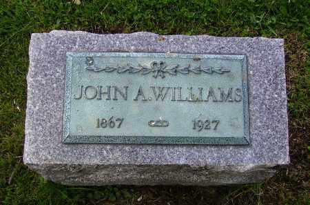 WILLIAMS, JOHN A. - Stark County, Ohio | JOHN A. WILLIAMS - Ohio Gravestone Photos