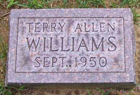 WILLIAMS, TERRY ALLEN - Stark County, Ohio | TERRY ALLEN WILLIAMS - Ohio Gravestone Photos