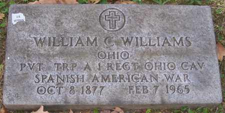 WILLIAMS, WILLIAM C. - Stark County, Ohio | WILLIAM C. WILLIAMS - Ohio Gravestone Photos