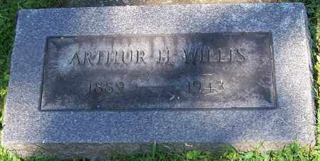 WILLIS, ARTHUR H. - Stark County, Ohio | ARTHUR H. WILLIS - Ohio Gravestone Photos