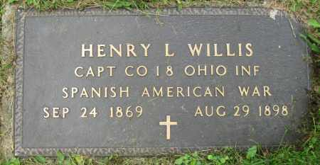 WILLIS, HENRY L. - Stark County, Ohio | HENRY L. WILLIS - Ohio Gravestone Photos