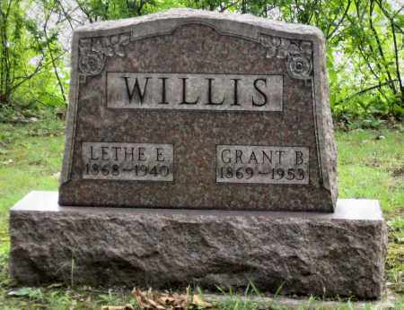 WILLIS, GRANT B. - Stark County, Ohio | GRANT B. WILLIS - Ohio Gravestone Photos