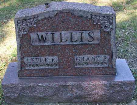 WILLIS, LETHE E. - Stark County, Ohio | LETHE E. WILLIS - Ohio Gravestone Photos
