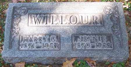 WILLOUR, JENNIE - Stark County, Ohio | JENNIE WILLOUR - Ohio Gravestone Photos