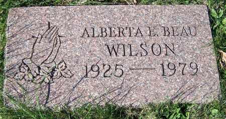 WILSON, ALBERTA E. BEAU - Stark County, Ohio | ALBERTA E. BEAU WILSON - Ohio Gravestone Photos