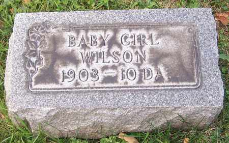 WILSON, BABY GIRL - Stark County, Ohio   BABY GIRL WILSON - Ohio Gravestone Photos