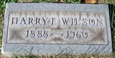 WILSON, HARRY F. - Stark County, Ohio | HARRY F. WILSON - Ohio Gravestone Photos