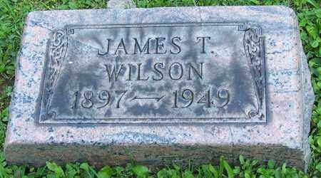 WILSON, JAMES T. - Stark County, Ohio | JAMES T. WILSON - Ohio Gravestone Photos