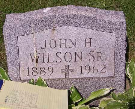 WILSON, JOHN H. (SR) - Stark County, Ohio | JOHN H. (SR) WILSON - Ohio Gravestone Photos