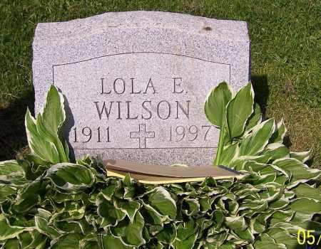 WILSON, LOLA E. - Stark County, Ohio | LOLA E. WILSON - Ohio Gravestone Photos