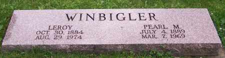 WINBIGLER, PEARL M. - Stark County, Ohio | PEARL M. WINBIGLER - Ohio Gravestone Photos
