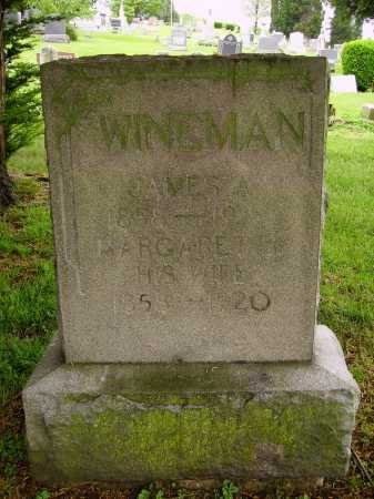 WINEMAN, SARAH MARGARET - Stark County, Ohio | SARAH MARGARET WINEMAN - Ohio Gravestone Photos