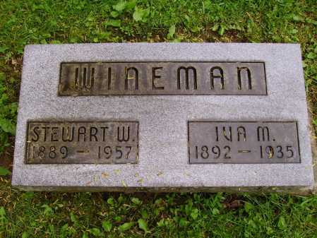 WINEMAN, STEWART W. - Stark County, Ohio | STEWART W. WINEMAN - Ohio Gravestone Photos
