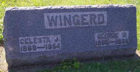 WINGERD, CELESTA J. - Stark County, Ohio | CELESTA J. WINGERD - Ohio Gravestone Photos