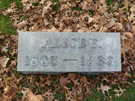 WINGERT, ALICE E - Stark County, Ohio | ALICE E WINGERT - Ohio Gravestone Photos