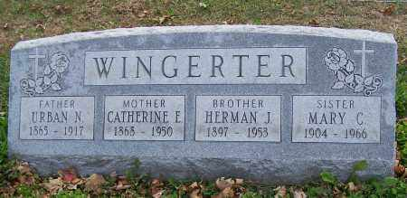 WINGERTER, URBAN N. - Stark County, Ohio | URBAN N. WINGERTER - Ohio Gravestone Photos