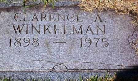 WINKELMAN, CLARENCE A. - Stark County, Ohio | CLARENCE A. WINKELMAN - Ohio Gravestone Photos