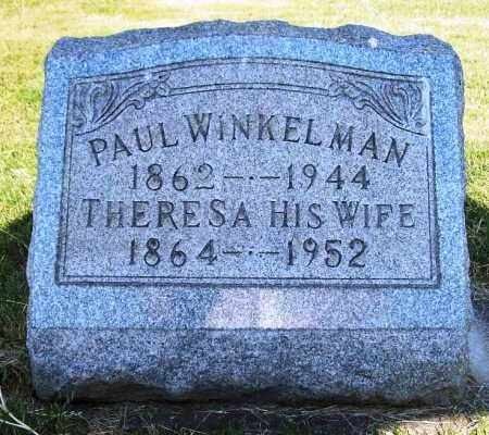 WEY WINKELMAN, THERESA - Stark County, Ohio | THERESA WEY WINKELMAN - Ohio Gravestone Photos