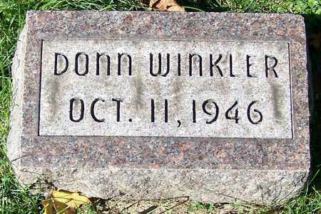 WINKLER, DONN ALAN - Stark County, Ohio | DONN ALAN WINKLER - Ohio Gravestone Photos