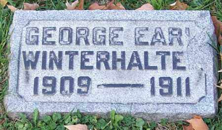 WINTERHALTER, GEORGE EARL - Stark County, Ohio | GEORGE EARL WINTERHALTER - Ohio Gravestone Photos