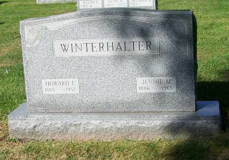 WINTERHALTER, HOWARD E. - Stark County, Ohio | HOWARD E. WINTERHALTER - Ohio Gravestone Photos
