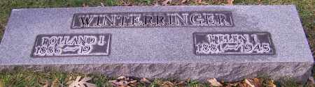 WINTERRINGER, HELEN I. - Stark County, Ohio | HELEN I. WINTERRINGER - Ohio Gravestone Photos