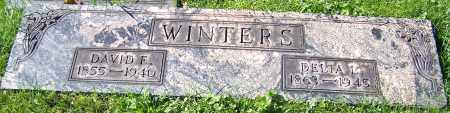 WINTERS, DAVID E. - Stark County, Ohio | DAVID E. WINTERS - Ohio Gravestone Photos