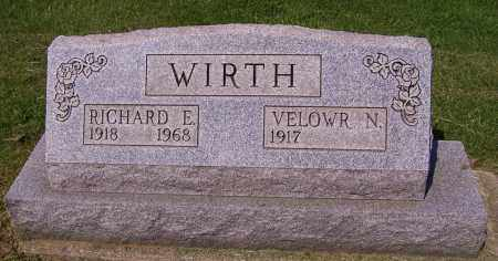 WIRTH, VELOWR N. - Stark County, Ohio | VELOWR N. WIRTH - Ohio Gravestone Photos