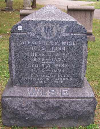 WISE, PHEBE C. - Stark County, Ohio | PHEBE C. WISE - Ohio Gravestone Photos