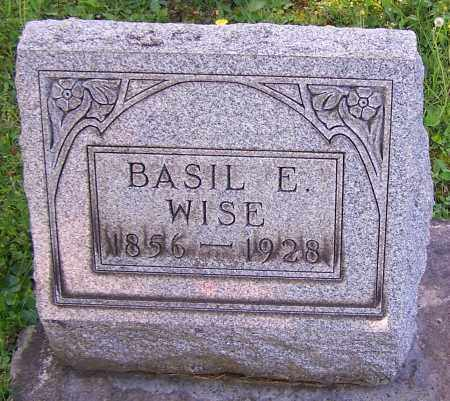 WISE, BASIL E. - Stark County, Ohio | BASIL E. WISE - Ohio Gravestone Photos