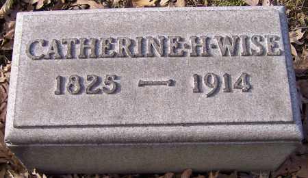 WISE, CATHERINE H. - Stark County, Ohio | CATHERINE H. WISE - Ohio Gravestone Photos