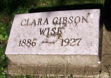 WISE, CLARA GIBSON - Stark County, Ohio | CLARA GIBSON WISE - Ohio Gravestone Photos