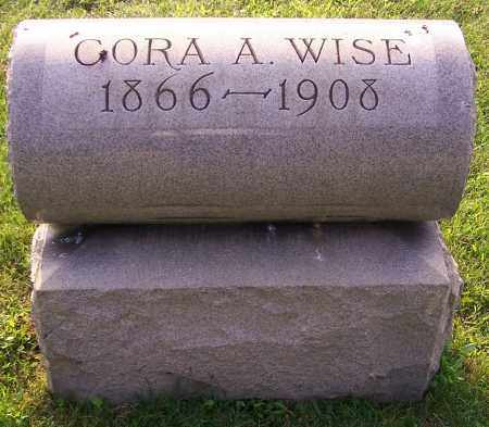 WISE, CORA A. - Stark County, Ohio | CORA A. WISE - Ohio Gravestone Photos
