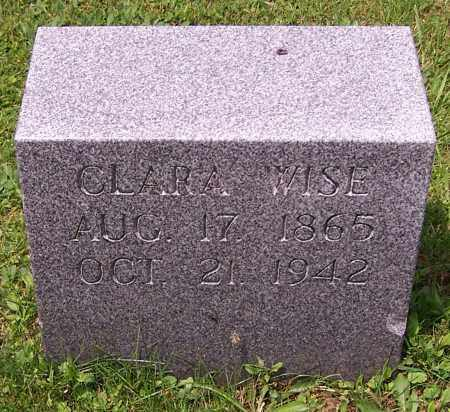 WISE, CLARA - Stark County, Ohio | CLARA WISE - Ohio Gravestone Photos