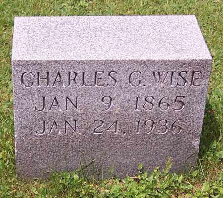 WISE, CHARLES G. - Stark County, Ohio | CHARLES G. WISE - Ohio Gravestone Photos
