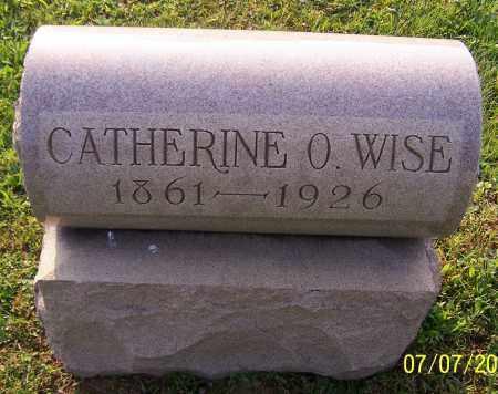 WISE, CATHERINE O. - Stark County, Ohio | CATHERINE O. WISE - Ohio Gravestone Photos