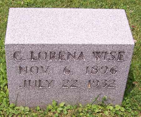 WISE, C. LORENA - Stark County, Ohio | C. LORENA WISE - Ohio Gravestone Photos