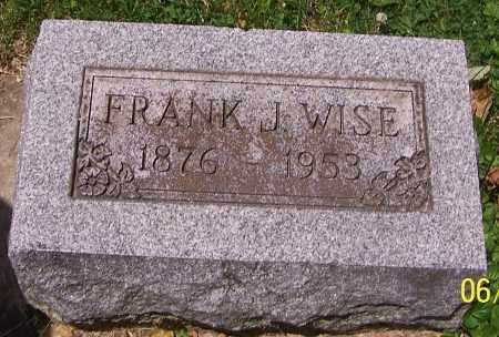 WISE, FRANK J. - Stark County, Ohio | FRANK J. WISE - Ohio Gravestone Photos