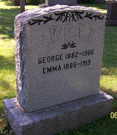 WENGER WISE, EMMA - Stark County, Ohio | EMMA WENGER WISE - Ohio Gravestone Photos