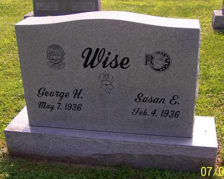 WISE, SUSAN E. - Stark County, Ohio | SUSAN E. WISE - Ohio Gravestone Photos