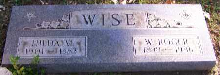 WISE, W. ROGER - Stark County, Ohio | W. ROGER WISE - Ohio Gravestone Photos